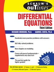 Schaum's Outline of Differential Equations, 3rd edition ebook by Richard Bronson,Gabriel Costa