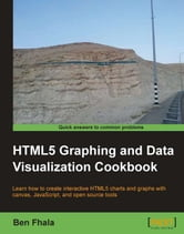 HTML5 Graphing and Data Visualization Cookbook ebook by Ben Fhala
