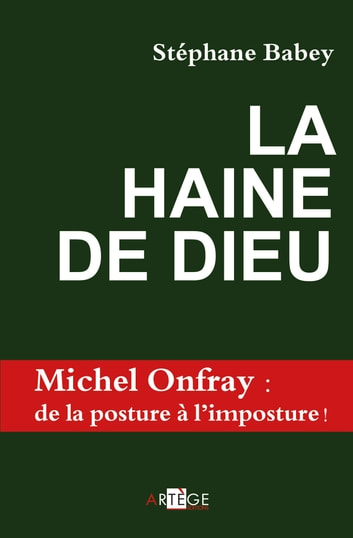 La haine de Dieu ebook by Stéphane Babey