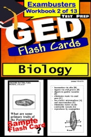 GED Test Prep Biology Review--Exambusters Flash Cards--Workbook 2 of 13 - GED Exam Study Guide ebook by GED Exambusters