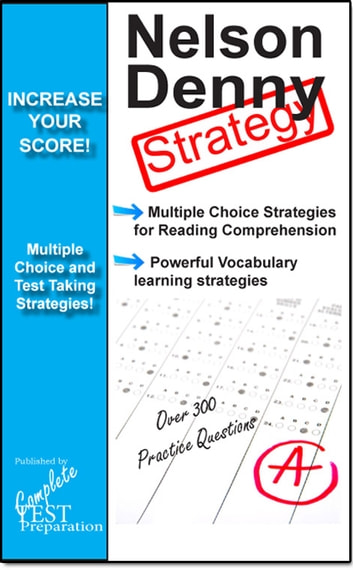 Nelson Denny Test Strategy: Reading Comprehension Strategy and Powerful  Vocabulary Learning Techniques