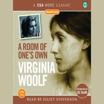 A Room of One's Own audiobook by Virginia Woolf