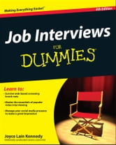 Job Interviews For Dummies ebook by Joyce Lain Kennedy