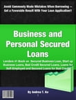 Business and Personal Secured Loans