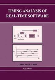 Timing Analysis of Real-Time Software ebook by Rodd, M.G.