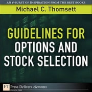 Guidelines for Options and Stock Selection ebook by Thomsett, Michael C.