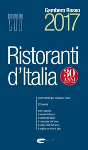 Ristoranti d'Italia 2017 ebook by Aa.Vv.