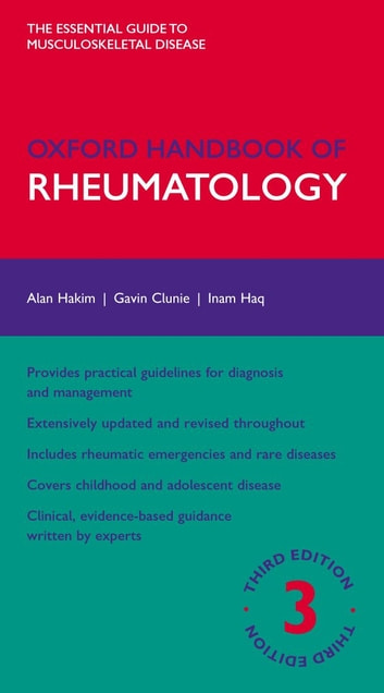 Oxford Handbook of Rheumatology ebook by Alan Hakim,Gavin Clunie,Inam Haq