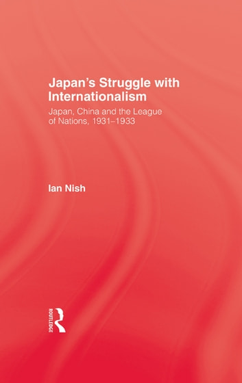 Japans Struggle With Internation ebook by Nish