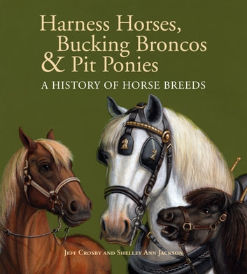 Harness Horses, Bucking Broncos & Pit Ponies - A History of Horse Breeds ebook by Jeff Crosby,Shelley Ann Jackson