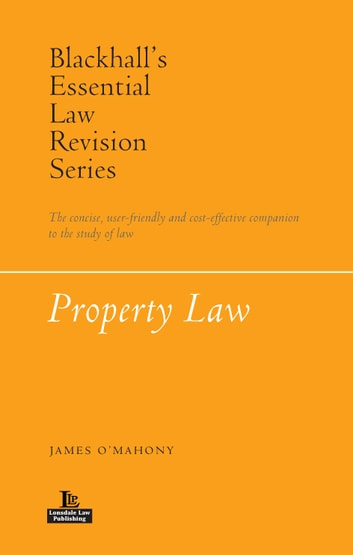 Property Law ebook by James O'Mahony