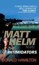 Matt Helm - The Intimidators ebook by Donald Hamilton