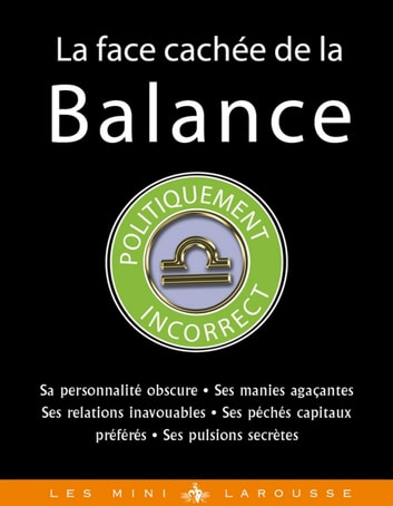 La face cachée de la Balance ebook by Stella Hyde