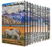 Courting the West - A Boxed Set of Ten Western Romances ebook by Debra Holland,Kirsten Osbourne,Lily Graison