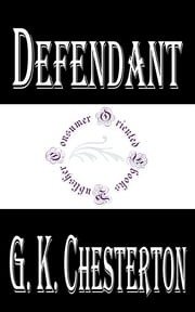 Defendant ebook by G. K. Chesterton