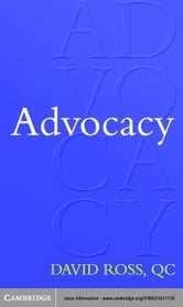 Advocacy ebook by Ross, David