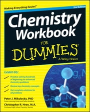 Chemistry Workbook For Dummies ebook by Peter J. Mikulecky,Chris Hren