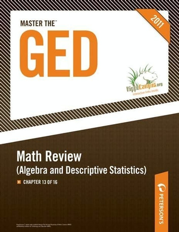 Master the ged math review algebra and descriptive statistics master the ged math review algebra and descriptive statistics chapter 13 of fandeluxe Image collections
