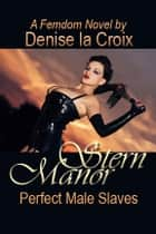 Stern Manor - Perfect Male Slaves ebook by Croix Denise la