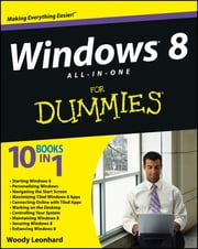 Windows 8 All-in-One For Dummies ebook by Woody Leonhard