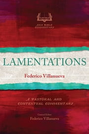 Lamentations ebook by Federico G. Villanueva