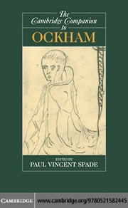 The Cambridge Companion to Ockham ebook by Spade, Paul Vincent
