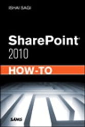 SharePoint 2010 How-To ebook by Ishai Sagi