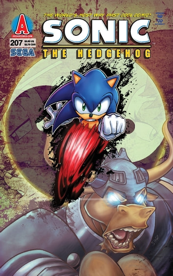 "Sonic the Hedgehog #207 ebook by Ian Flynn,James Fry,Terry Austin,Patrick ""SPAZ"" Spaziante"