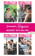 Harlequin Romance August 2016 Box Set - An Unlikely Bride for the Billionaire\Falling for the Secret Millionaire\The Forbidden Prince\The Best Man's Guarded Heart ebook by Michelle Douglas, Kate Hardy, Alison Roberts,...