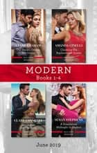 Modern Box Set 1-4/The Sheikh Crowns His Virgin/Claiming His Replacement Queen/Shock Heir for the King/A Scandalous Midnight in Madr ebook by Lynne Graham, Susan Stephens, Amanda Cinelli,...