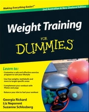 Weight Training For Dummies ebook by Georgia Rickard,Liz Neporent,Suzanne Schlosberg