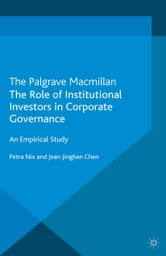 institutional holdings and corporate governance Institutional investors, corporate governance and the performance of the corporate sector e philip davis brunel university.