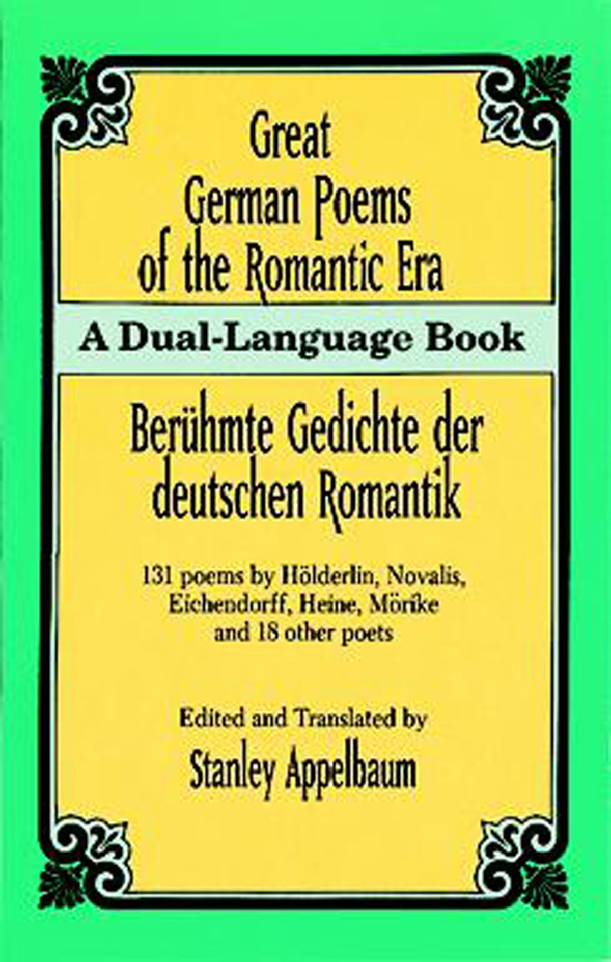 Great German Poems Of The Romantic Era Ebook By Rakuten Kobo