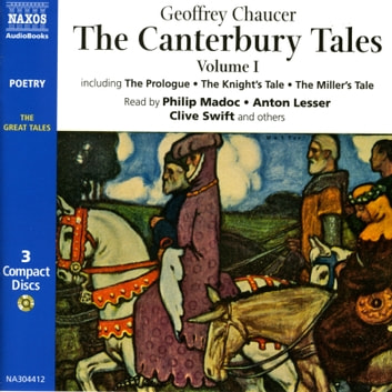 The Canterbury Tales Audiobook By Geoffrey Chaucer 9789629546465