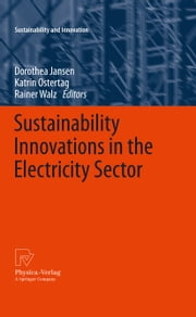 Sustainability Innovations in the Electricity Sector ebook by