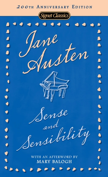 Sense and Sensibility ebook by Jane Austen,Mary Balogh