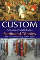 Custom ebook by Ferdinand Tonnies,Mathieu Deflem