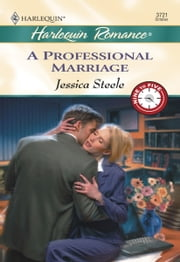 A Professional Marriage ebook by Jessica Steele