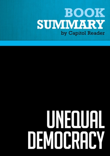 a summary of democracy Complete summary of henry brooks adams' democracy enotes plot summaries cover all the significant action of democracy.