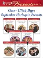 One-Click Buy: September Harlequin Presents - Virgin for the Billionaire's Taking\The De Santis Marriage\Italian Boss, Ruthless Revenge\The Sicilian's Innocent Mistress\The Kouros Marriage Revenge\At the Sheikh's Bidding ebook by Penny Jordan, Michelle Reid, Carol Marinelli,...