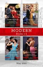 Modern Box Set 1-4 May 2021/The Ring the Spaniard Gave Her/Pregnant with His Majesty's Heir/Cinderella's Night in Venice/The Forbidden Inno ebook by Lynne Graham, Annie West, Michelle Smart,...