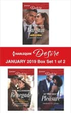Harlequin Desire January 2019 - Box Set 1 of 2 - An Anthology ebook by Joanne Rock, Catherine Mann, Yahrah St. John