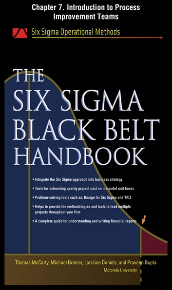 The Six Sigma Black Belt Handbook, Chapter 7 - Introduction to Process Improvement Teams ebook by Thomas McCarty,Lorraine Daniels,Michael Bremer,Praveen Gupta,John Heisey,Kathleen Mills