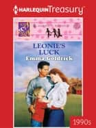 Leonie's Luck ebook by Emma Goldrick