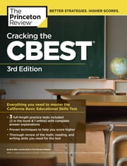 Cracking the CBEST, 3rd Edition ebook by Princeton Review
