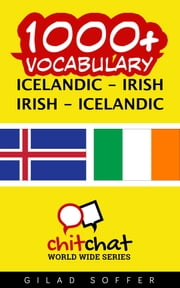 1000+ Vocabulary Icelandic - Irish ebook by Gilad Soffer