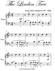 Linden Tree Easy Piano Sheet Music ebook by Franz Peter Schubert