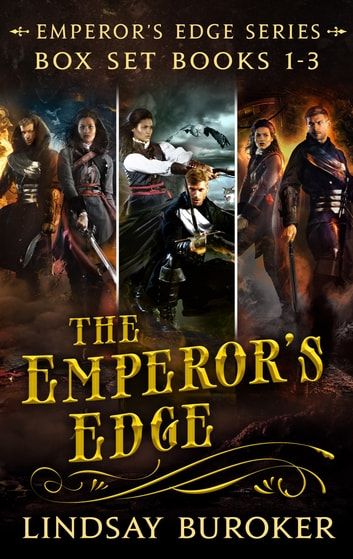 The Emperor's Edge Collection (Books 1, 2, and 3) - An Epic Fantasy Adventure Series ebook by Lindsay Buroker