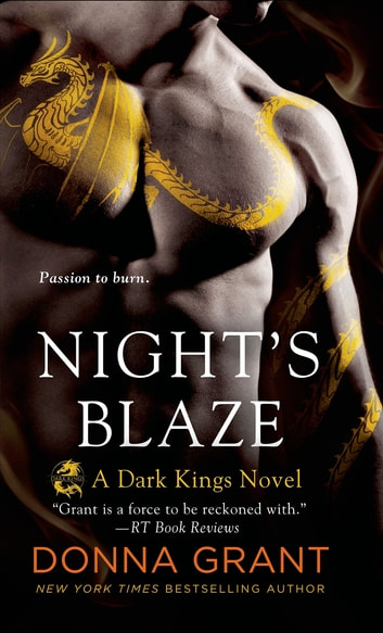 Night's Blaze - A Dragon Romance ebook by Donna Grant
