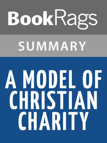 an analysis of the arbella speech a model of christian charity Charity marketing analysis: charity a model of christian charity human beings have a tendency to charity persuasive speech-donate to my favorite.